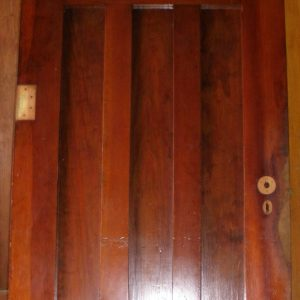 Distinguished multi-vertical paneled door