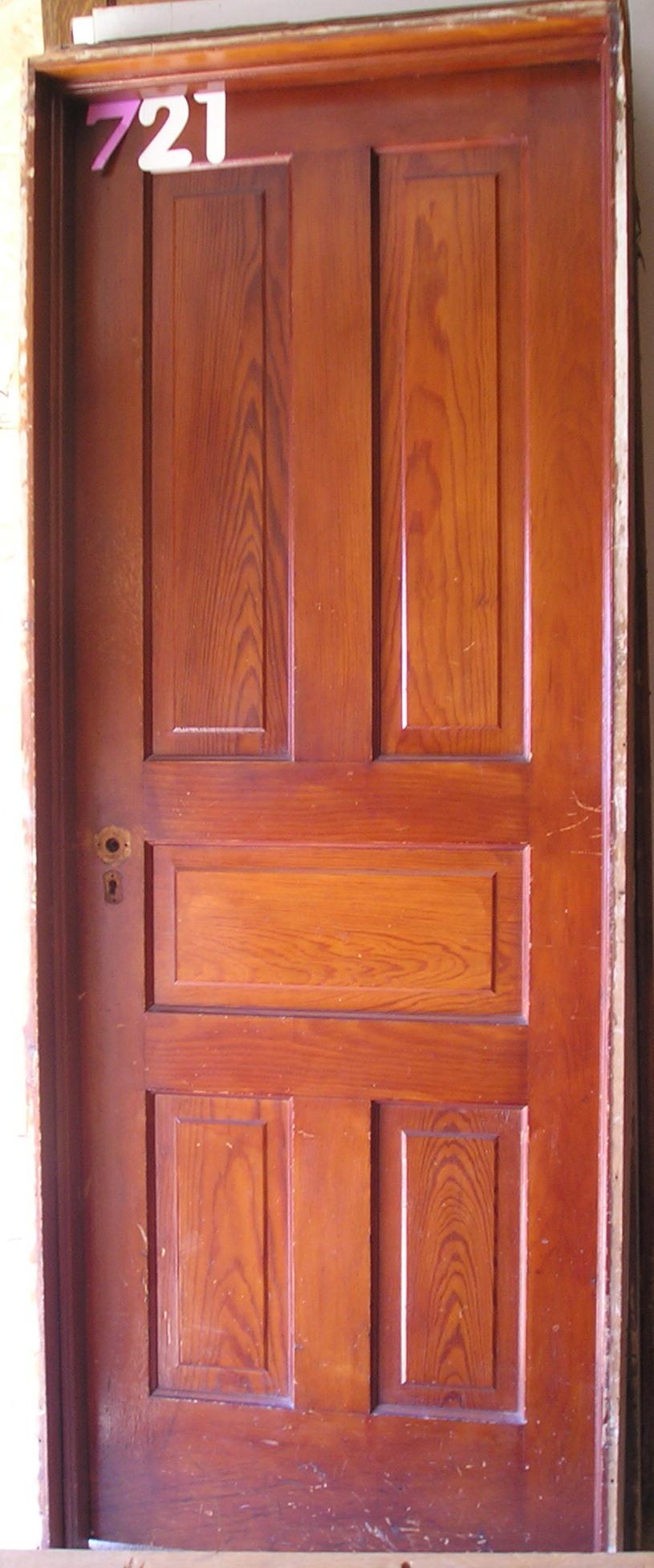 Victorian 5 Panel Style Door Nd Millwerk Salvage And Sales