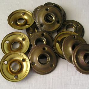 Brass Door Rosettes