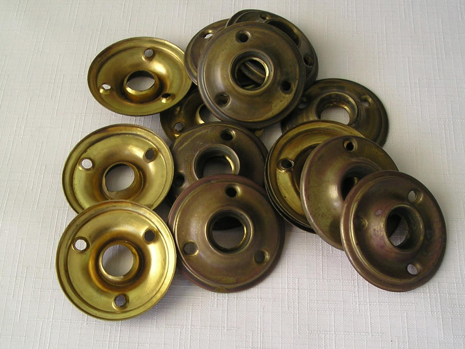 Brass Door Rosettes & Brass Door Rosettes | ND MillWerk Salvage and Sales