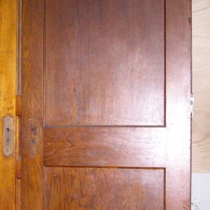natural 2panel oak door