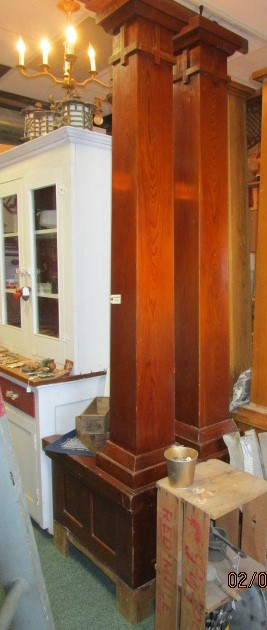 SOLD Mission Detailed Room Divider ND MillWerk Salvage and Sales