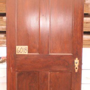 6 Panel Southern Pine Door