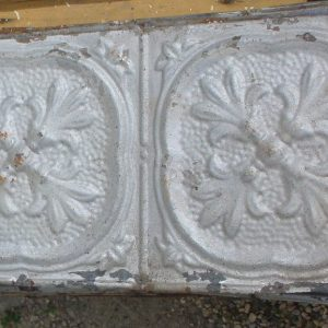 uniquely patterned tin molding nd millwerk salvage and sales