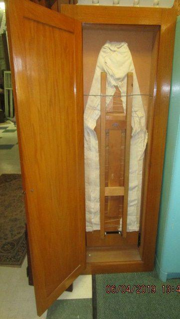 Built-In Oak Ironing Board Cabinet | ND MillWerk Salvage ...